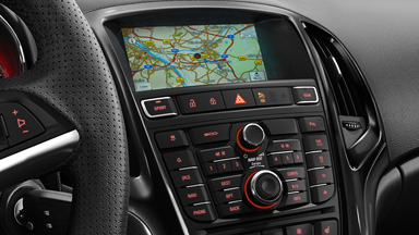 Opel GTC - intérieur Navi 950 IntelliLink