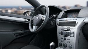 Opel Astra - Дизайн интерьера