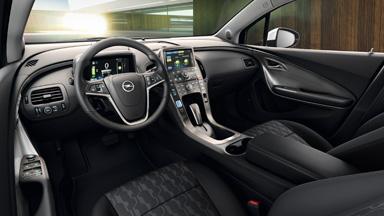 Der neue Opel Ampera - Innendesign