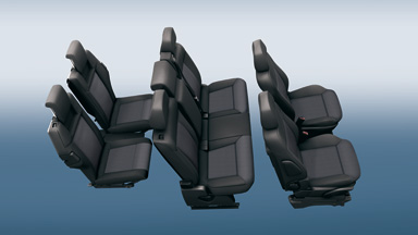 Opel Zafira Family - System foteli Flex7®