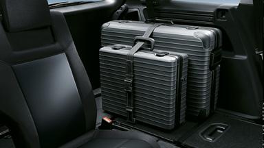 Opel Zafira Family - Schowki bagażowe