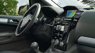 Opel Zafira - Информационно-развлекательные системы