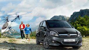 Opel Zafira - Дизайн внешнего вида