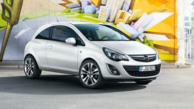 Opel Corsa 3-drzwiowy - Stylistyka nadwozia