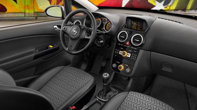 Opel Corsa 3-drzwiowy - Stylistyka wnętrza