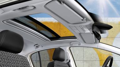 Opel Corsa 3-drzwiowy - Panoramiczne okno dachowe