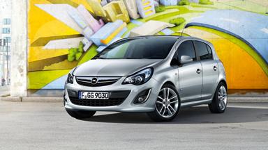 Opel Corsa 5-drzwiowy - Stylistyka nadwozia