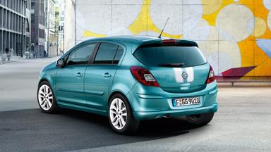 Opel Corsa - Дизайн внешнего вида