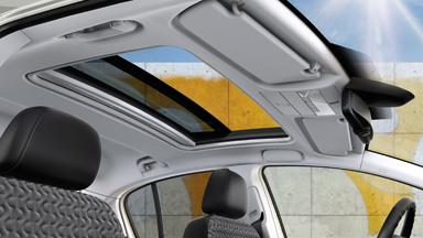 Opel Corsa - Панорамный люк