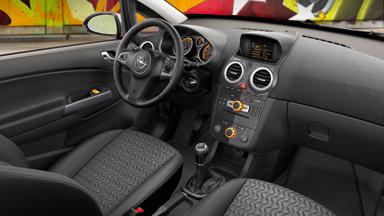 Opel Corsa - Дизайн интерьера