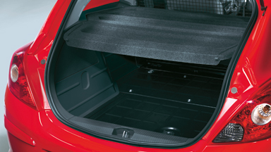 Opel Corsavan - Load Protection