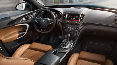 Opel Insignia Sports Tourer – Sisätilojen muotoilu