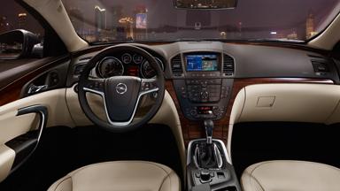 Opel Insignia - Дизайн интерьера