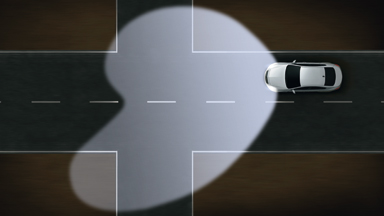 Новый Opel Insignia седан – Система адаптивного головного освещения (AFL+)