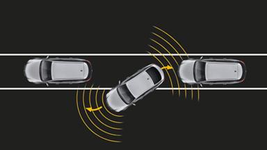Opel Insignia notchback - Sistemul avansat de asistare la parcare