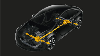 New Opel Insignia notchback - FlexRide Chassis