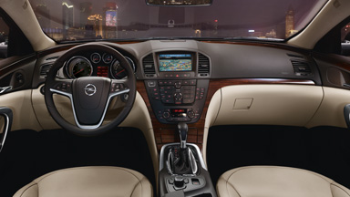 Opel Insignia sedan - Stylistyka wnętrza