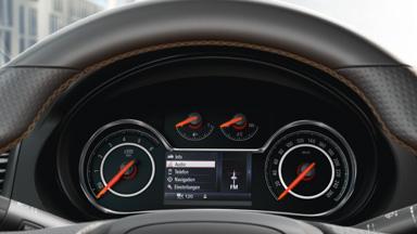 Opel Insignia седан – Цифровая приборная панель с 4,2-дюймовым сенсорным дисплеем