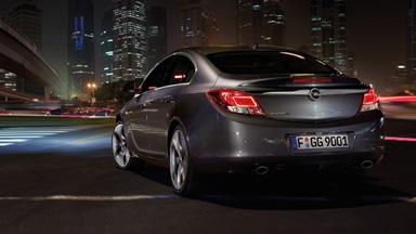 Opel Insignia sedan - Stylistyka nadwozia
