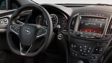 Opel Insignia notchback - Sistemul de climatizare şi volan îmbrăcat în piele și încălzit