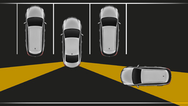 New Opel Insignia notchback - Rear Cross Traffic Alert (RCTA)