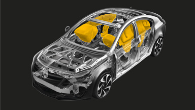 New Opel Inisgnia Notchback - Passive safety