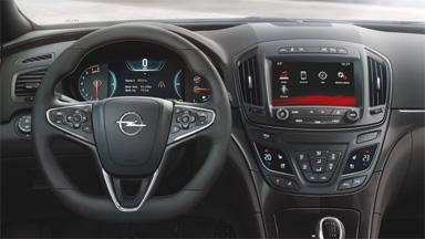 Opel Insignia седан – Система управления на рулевом колесе