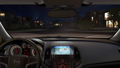 Opel Astra Sports Tourer - Adaptacyjne reflektory (AFL+)