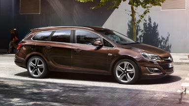 Opel Astra Sports Tourer - Nowe zawieszenie