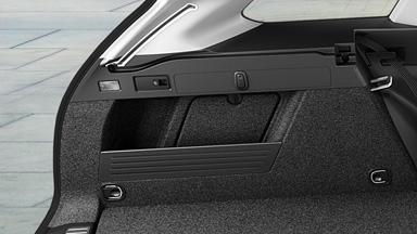 Opel Astra Sports Tourer - Kieszenie boczne oraz uchwyty mocujące
