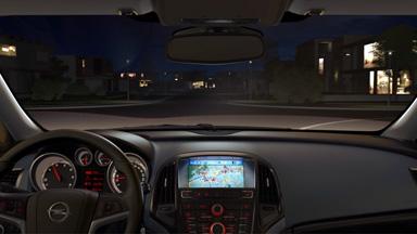 Opel Astra hatchback - Adaptacyjne reflektory (AFL+)