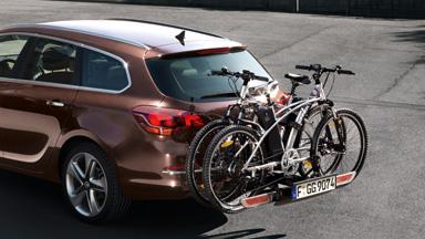 Opel Astra Hatchback - Zintegrowany bagażnik Flex-Fix®