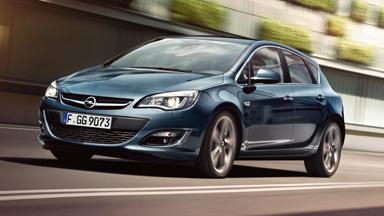 Opel Astra hatchback - Stylistyka nadwozia