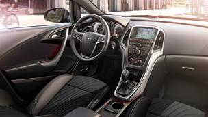 Новый Opel Astra хэтчбек – дизайн интерьера