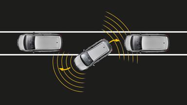 Opel Astra Hatchback - Czujniki parkowania