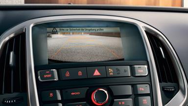 Opel Astra Hatchback - Kamera cofania