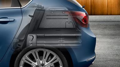 Opel Astra Hatchback - Przestrzeń bagażowa z FlexFloor