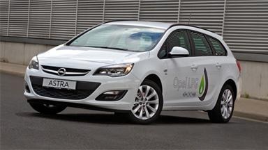 Opel Astra Hatchback - Silnik LPG ECOTEC®