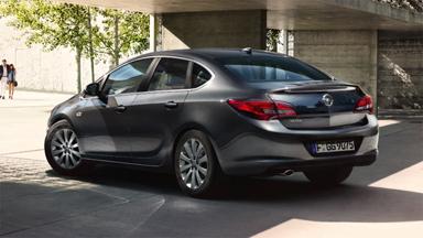 Opel Astra Sedan - Stylistyka nadwozia