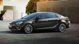 Opel Astra седан — Дизайн внешнего