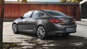Opel Astra седан — Дизайн внешнего вида