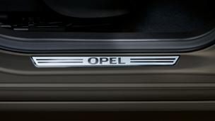 Opel Meriva - Einstiegsleisten