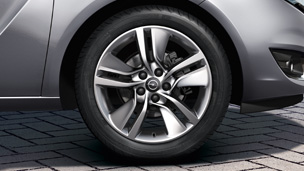 Opel Meriva - Alloy Wheel 17 inch