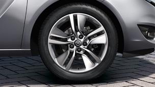 Opel Meriva - Felgen und Reifen