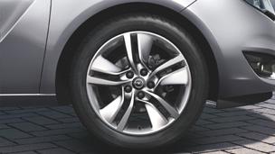 Opel Meriva - Jante din aliaj, 7 J x 17˝, design cu 5 spiţe duble