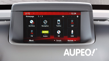 Opel Meriva Multimédia - Internet Radio