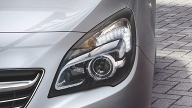 Opel Meriva - Iluminare frontală adaptivă (AFL)
