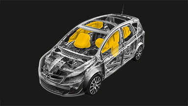 Opel Meriva - Passive Safety Features