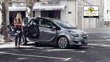 Opel Meriva - 5-Sterne-Sicherheit