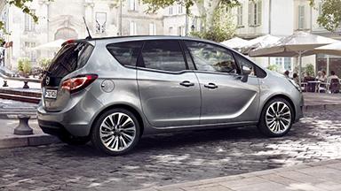 Opel Meriva - Außendesign